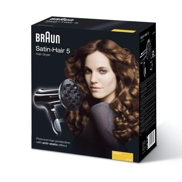 مجفف الشعر براون ساتين هير 5 BRAUN HAIR DRYER