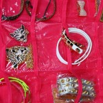 Corset Jewelry Organizer - Pink