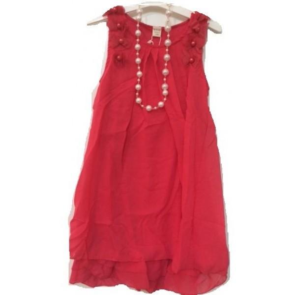فستان للصغيرات أحمر