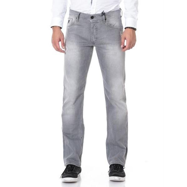سروال جينز فنتورا بقَصة مستقيمة للرجال من غيس