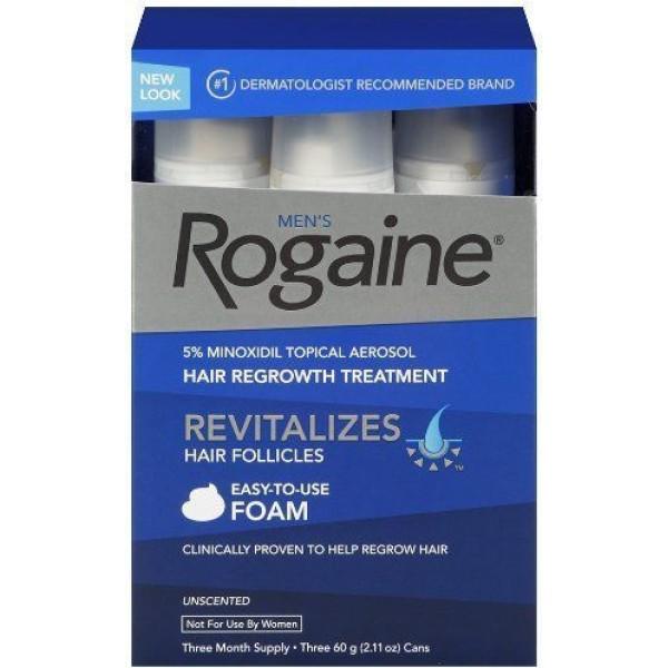 رغوة روجين 5% لتساقط الشعر لدى الرجال
