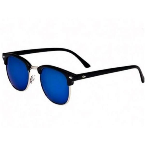 نظارات شمسية للجنسين لون ازرق