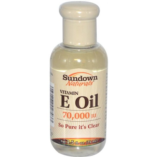 زيت فيتامين E - للبشرة والأظافر والندبات