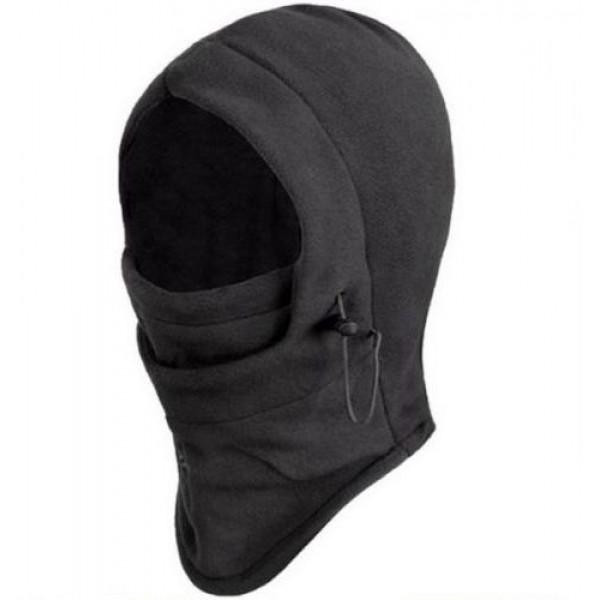 قبعة شتاء اللون الأسود