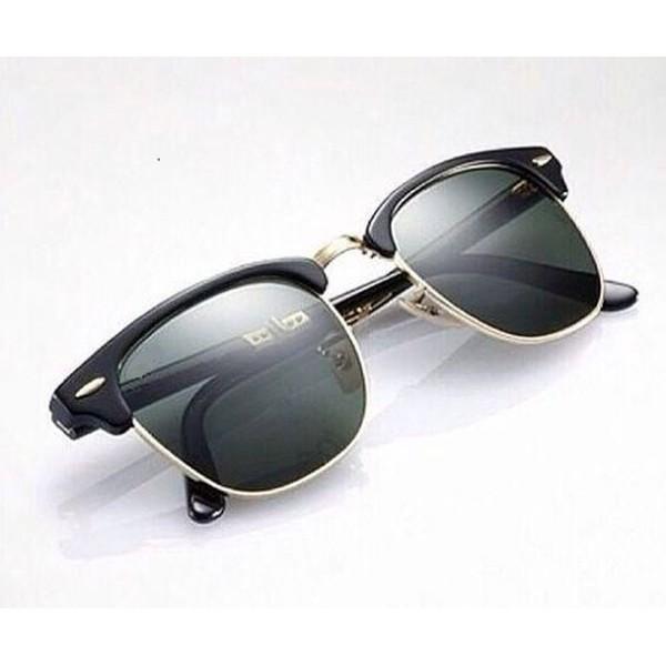 نظارات شمسية للجنسين لون اسود
