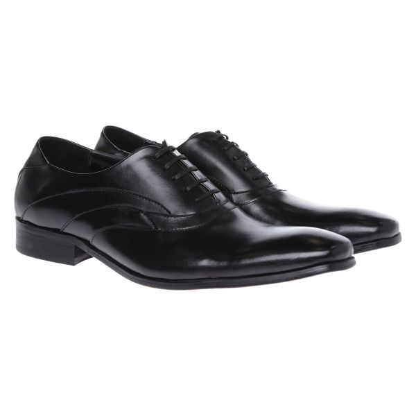 Kenneth Cole RM80061LE Jigsaw Oxford Shoes for Men - Black, 43 EU