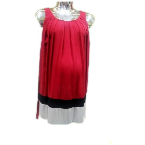 فستان للنساء الحوامل من لا سيجال- أحمر, مقاس M