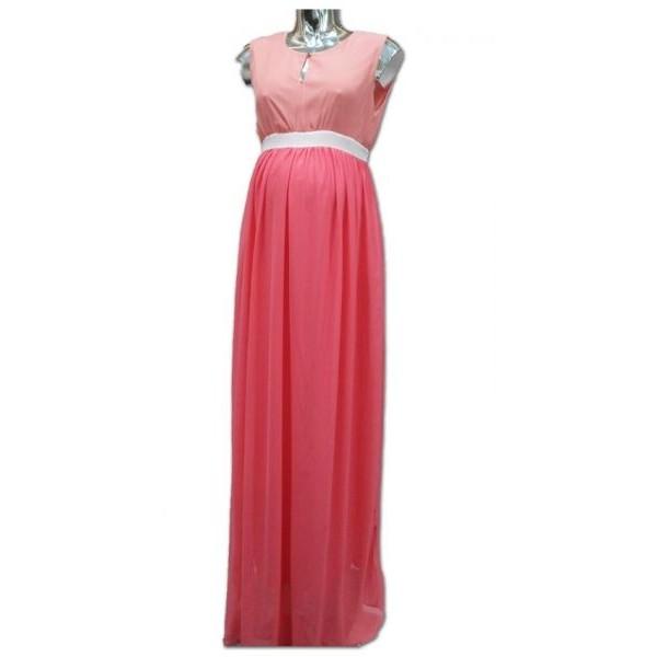 فستان للنساء الحوامل من لا سيجال- زهري, مقاس XXL