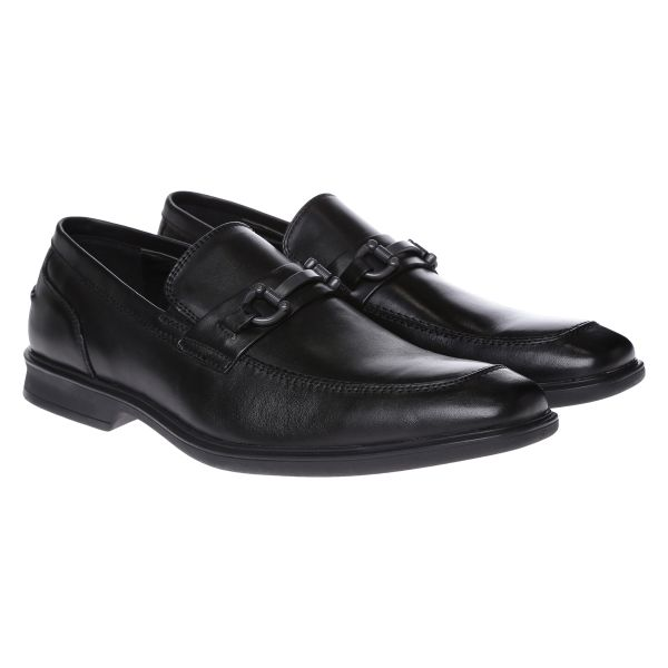 Kenneth Cole RM62123LE Busy Ness Loafer Shoes for Men - Black, 41 EU
