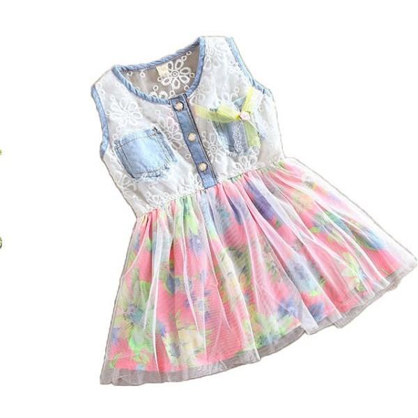 فستان بناتي لعمر سنة