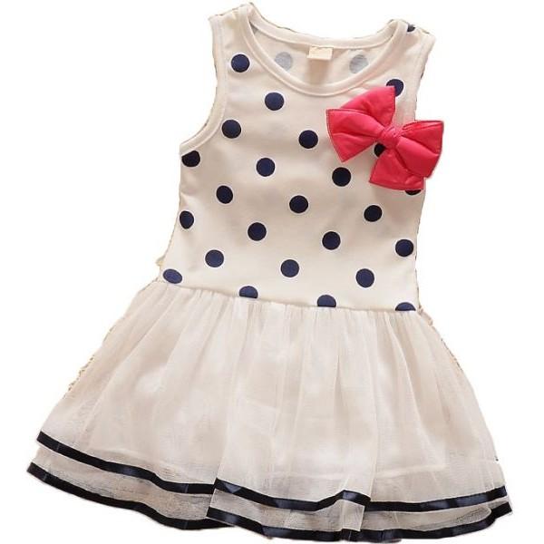 فستان بناتي لعمر سنتين
