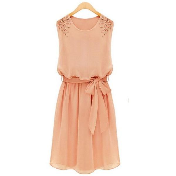 فستان نسائي قصير مقاس S