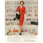 Avon high Buttoned Shoe 1970's