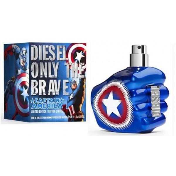 Only the Brave Captain America by Diesel 75ml Limited Edition