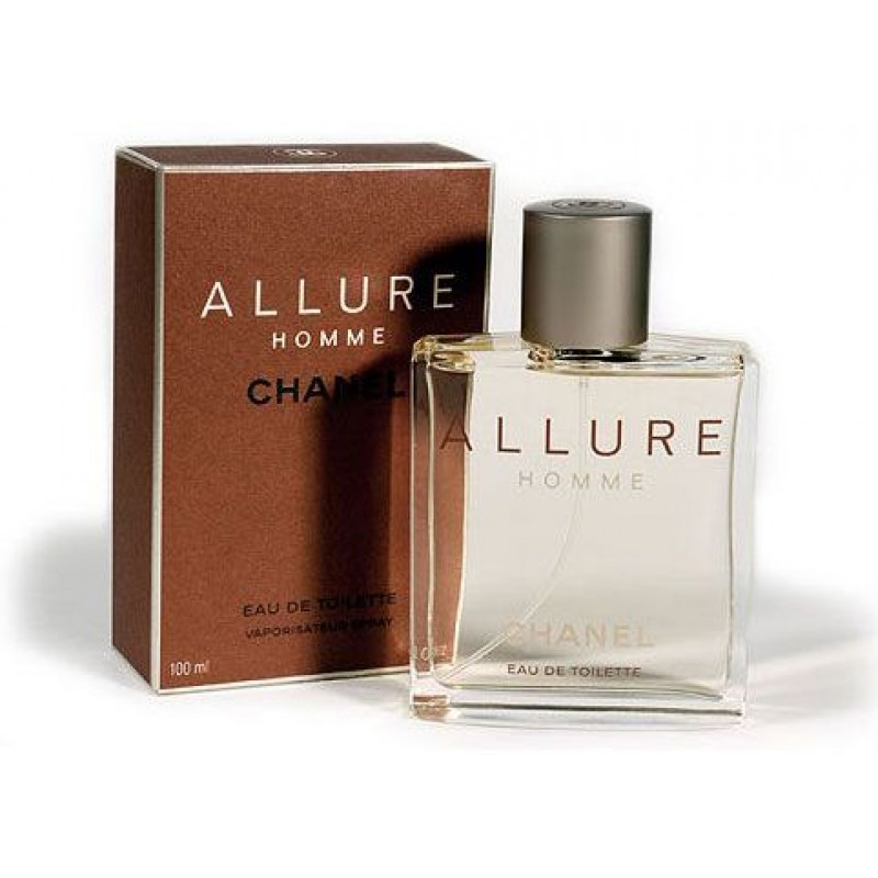 f87a04185 Chanel Allure Pour Homme for Men -Eau de Toilette, 100 ML