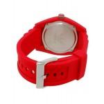 ساعة اديداس بريسبين حمراء لكلا الجنسين بسوار من السليكون - ADH6152