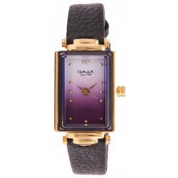 cfcdc850380a0 Omax Women s Purple Dial Leather Band Watch