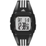 ساعة اديداس بيرفورمانس دورامو رقمية للرجال بسوار من السليكون - ADP6093