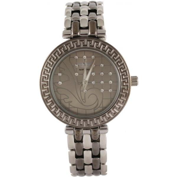 ساعة ماركة نيوفاندي NF007387A للنساء رسمية