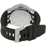 ساعة انفيكتا اوربان سوداء للرجال بسوار من المطاط كرونوغراف