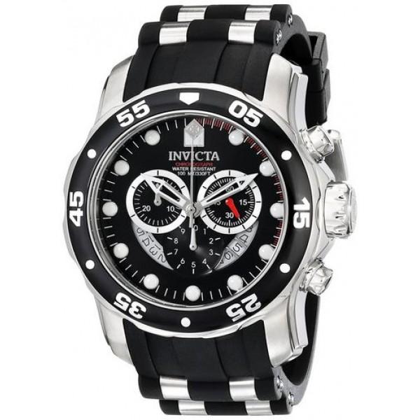 ساعة انفيكتا برو دايفر للرجال - رياضية بسوار من البولي يوريثان - 6977