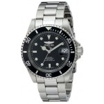 Invicta Men IN8926OB Stainless Steel Pro Diver Quartz Watch with Black Dial