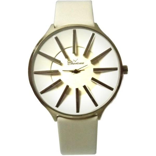 ساعة نسائية ابيض من كريزما