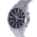 Citizen Men's Black Dial Stainless Steel Band Watch [AN 3560 - 51E]