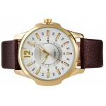 CURREN 8123 Men's Round Dial Analog Quartz Watch with Date Display brand watch men