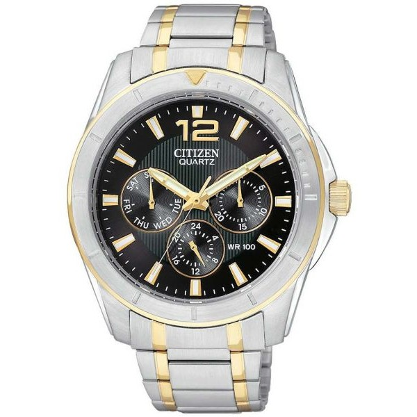 CITIZEN CHRONO GENTS WATCH-[AG8304-51E