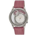 ساعة فينسي لؤلؤية للنساء بسوار من الجلد - 13F027F111629M
