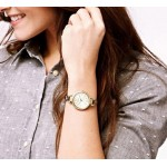 FOSSIL Georgia Mini Three-Hand Stainless Steel Watch - Gold-Tone ES3270