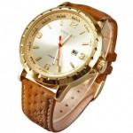 CURREN Leather Band Analog Quartz Wrist Watch - Model 8120