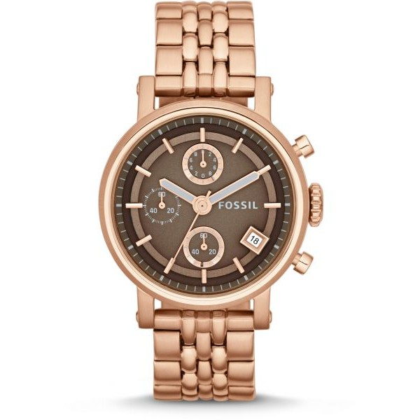 Original Boyfriend Chronograph Stainless Steel Watch - Rose
