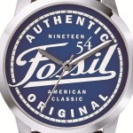FOSSIL Special Edition Townsman Three-Hand Leather Watch - Brown FS4897